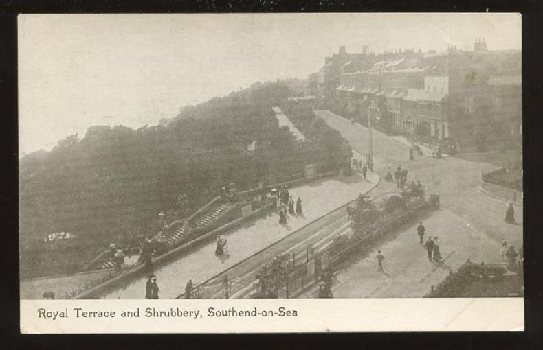 Essex southend on sea c1910 ppc royal terrace ebay for 1 royal terrace southend on sea